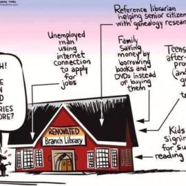 Libraries are still important!